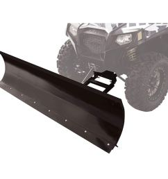 get quotations tusk subzero snow plow kit winch equipped utv 72 blade fits  [ 1001 x 1001 Pixel ]