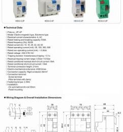 2pole 40a 30ma rccb f360 ac type elcb earth leakage circuit breakers [ 902 x 1160 Pixel ]