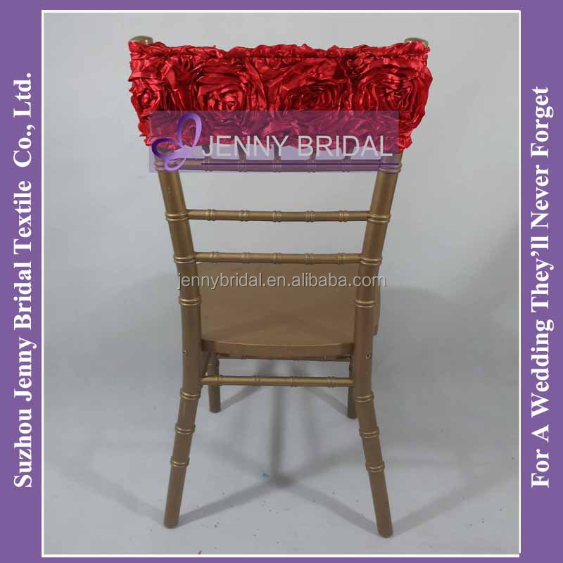 custom banquet chair covers office deals sh051a fancy pink rosette band for wedding, view band, jenny bridal product ...
