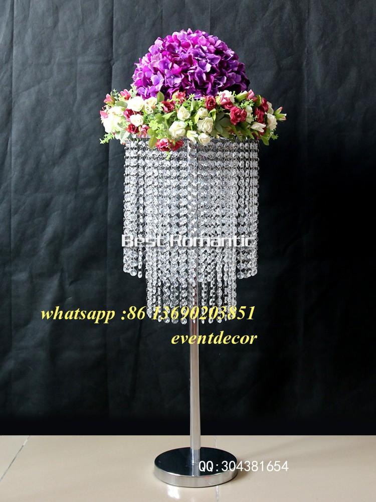 Tall Acrylic Wedding Centerpieces Clear Acrylic Aisle