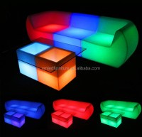 Rgb Led Lighted Inflatable Furniture - Buy Lighted ...