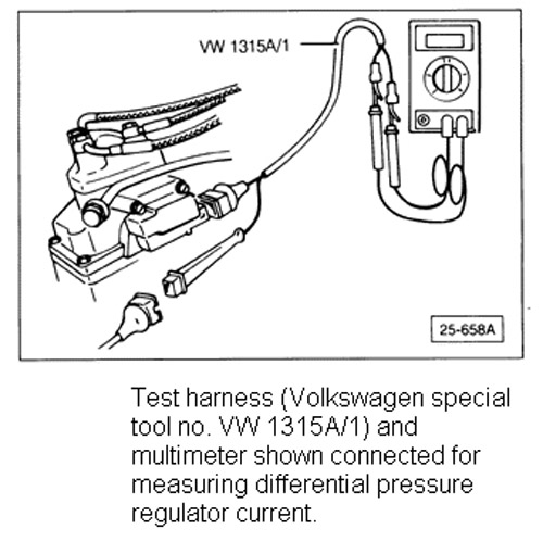 Vw 1315 A/1 Test Tool Wire Harness For Cis Ke Jetrontic