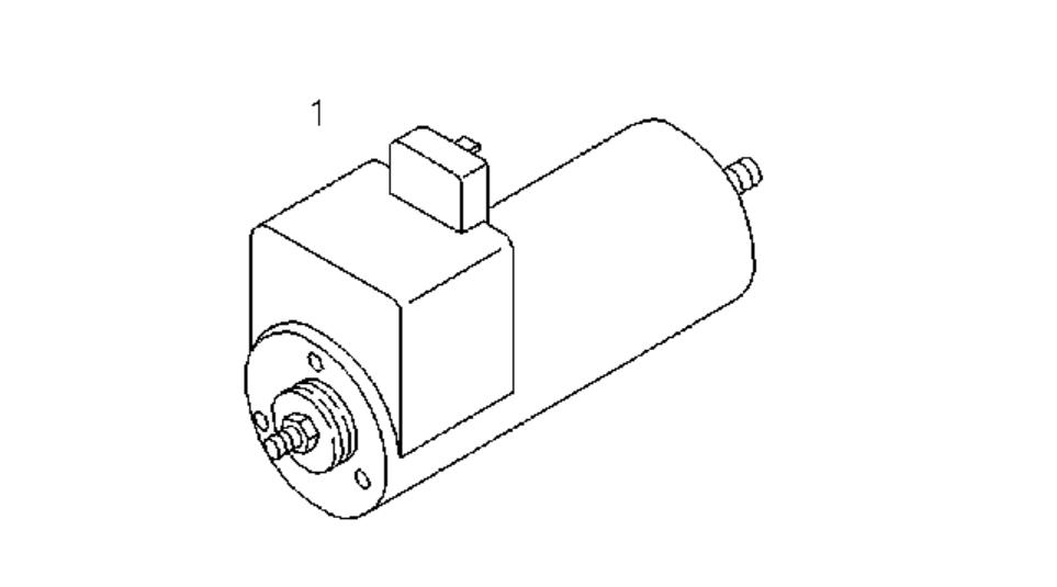 Deutz Bfm1015 Shutdown Device Solenoid Diesel Engine Spare
