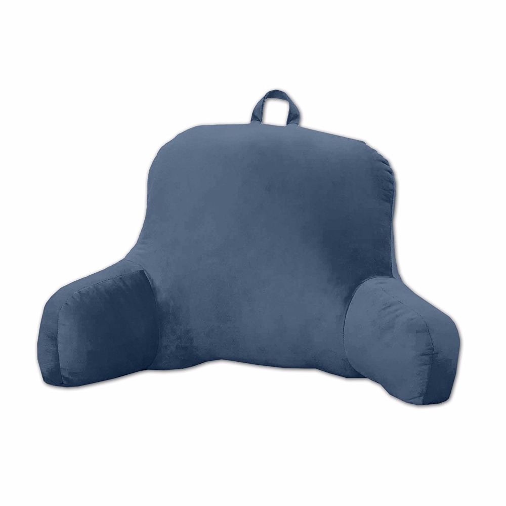 chair pillow for back kmart high chairs bedroom tv bed rest arm support plush soft cushion