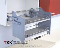 Kitchen Cabinet Elevator Pull Down Shelf Storage
