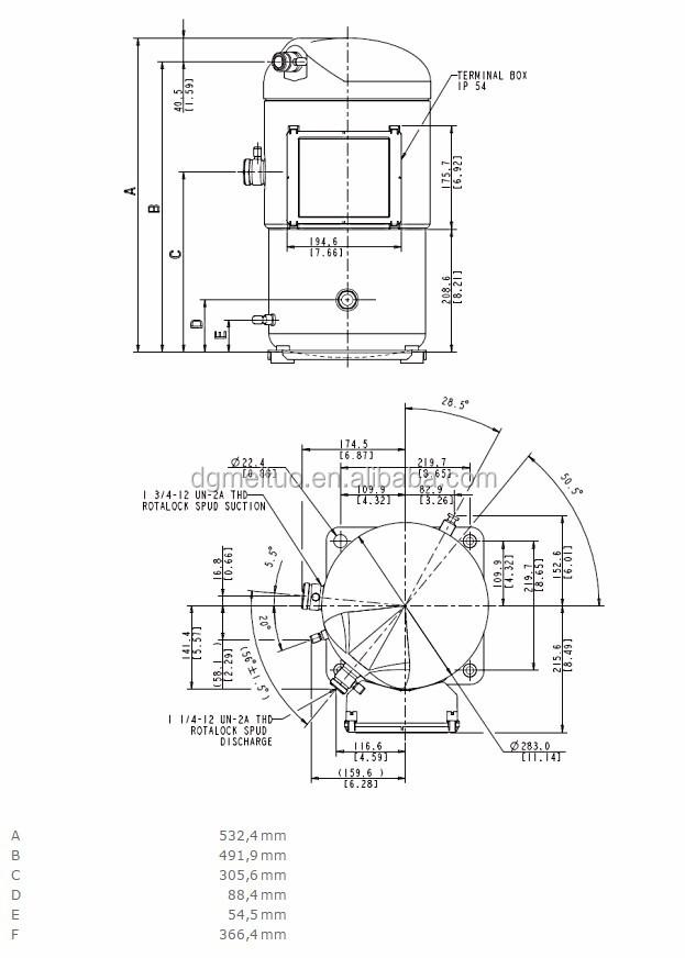 Best Price Copeland Brand Compressor Zf40k4e-twd-551 For