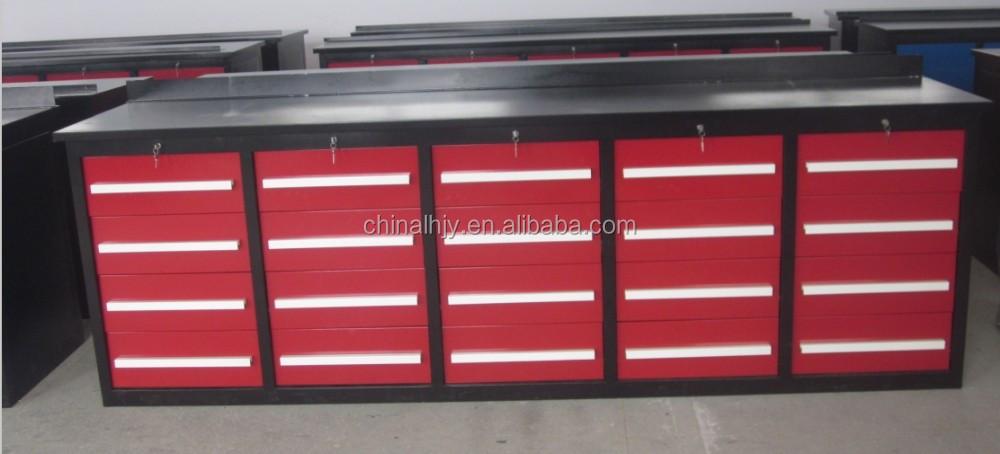 Armario de herramientas con 125 unidades herramienta para mantenimiento mecnico para el taller para la industriaOtros Muebles de metal