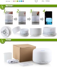 Electric Aroma Diffuser Lamp/fragrance Humidifier/portable ...