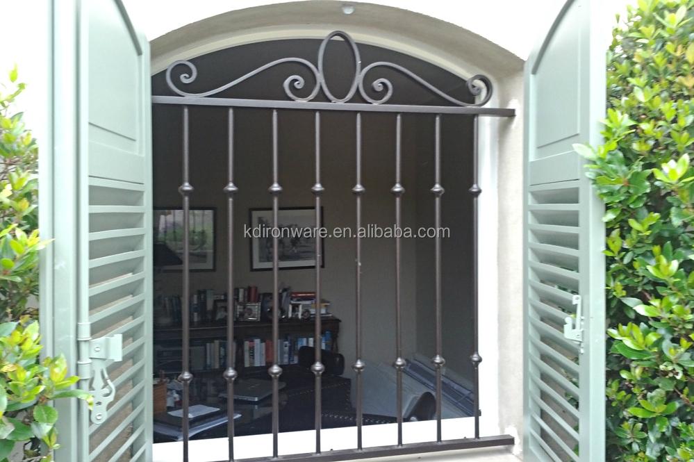 Simple House Window Decor Modern Wrought Iron Window Grill Design