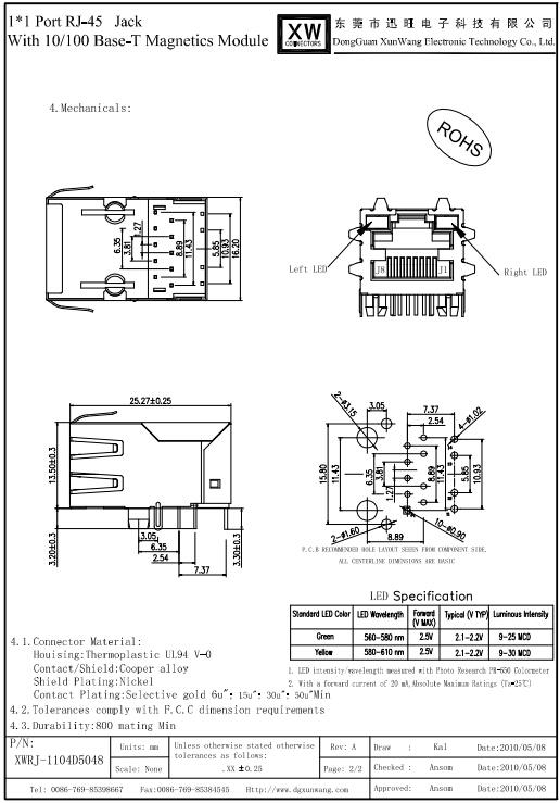 Manufacturer Passive Rj45 Poe Connector For Cctv Camera