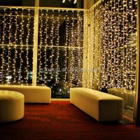 Wedding Lighting Decor Home Decor Led Fairy Light Curtain ...
