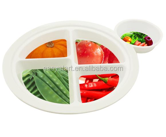 Customized Plastic Plate,Bpa Free Dinnerware,Cheap