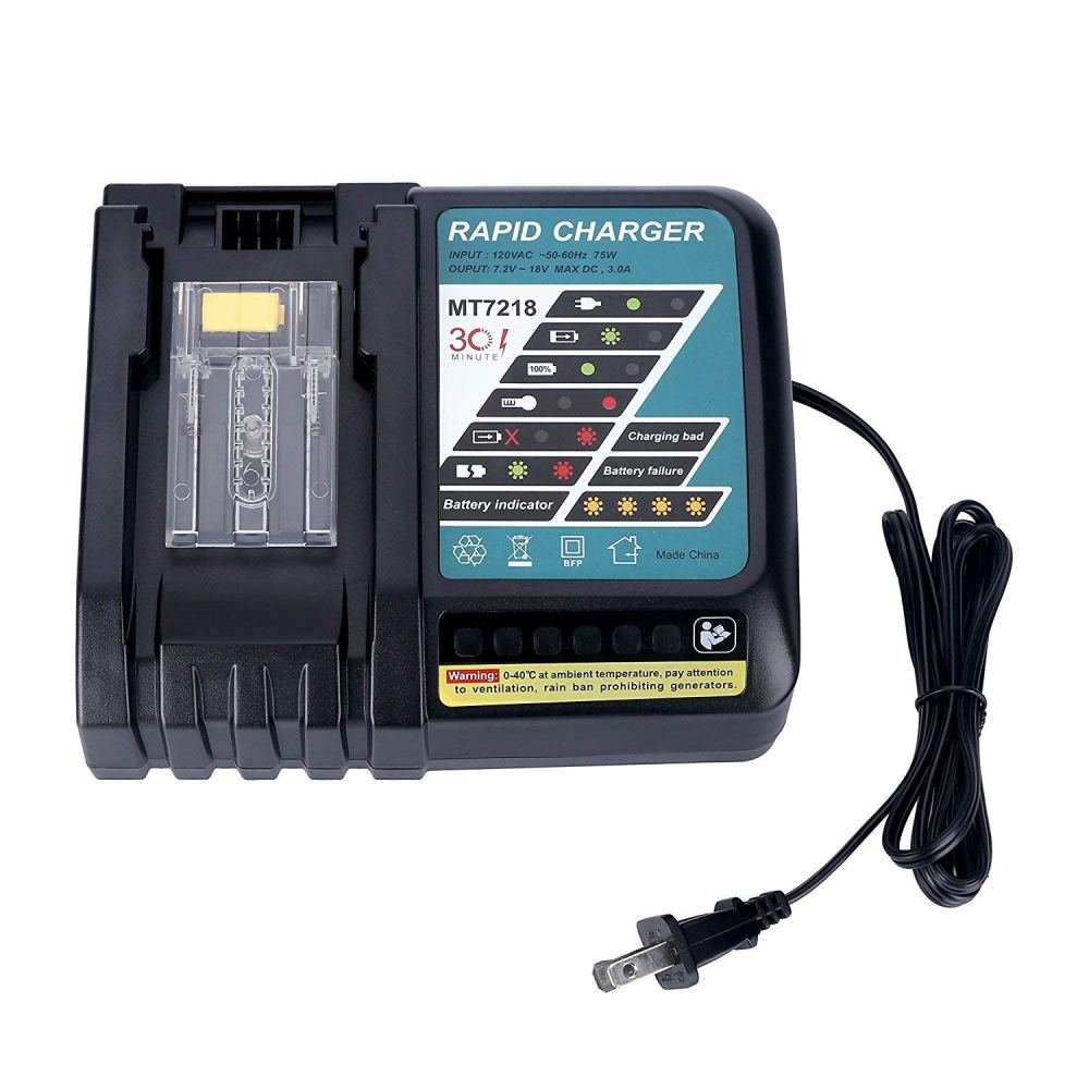medium resolution of get quotations aimaya replace 18v makita dc18rc dc18ra battery charger lithium ion charger 7 2v 18v for