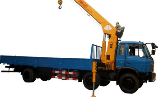 Used 14 Ton Hydraulic Mounted Hydra Crane For Truck With