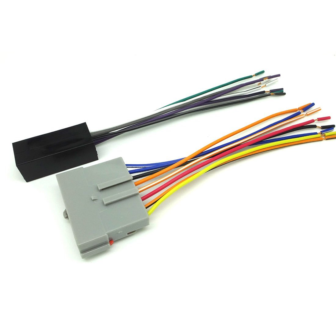 hight resolution of premium sound car stereo cd player wiring harness wire aftermarket radio install 1989 1997 ford
