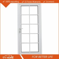 Yy Home Exterior Aluminium French Door Glass Inserts For ...