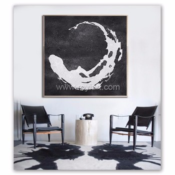 modern art circle minimalist