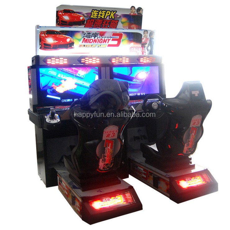 indoor coin operated car racing arcade games