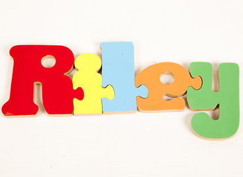 personalised jigsaw 5 letter
