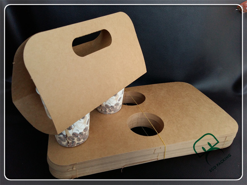 2 Holes Carry Bag Disposable Coffee Paper Cup Holder Buy