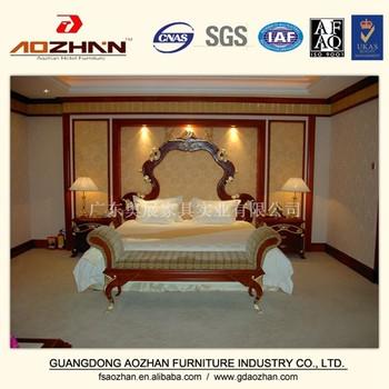 wood carving bedroom furniture king size bed antique headboards az