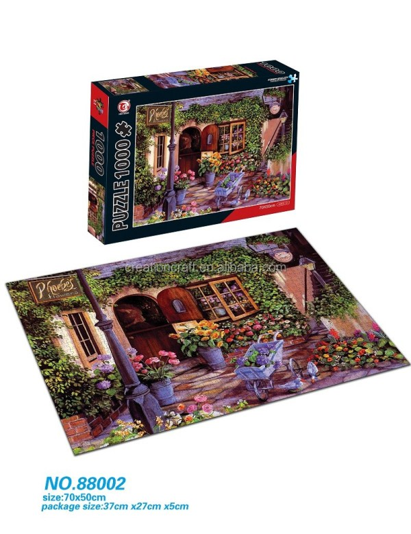 Professional Supplier Of Jigsaw Puzzle 1000 Pieces Manufacturer China