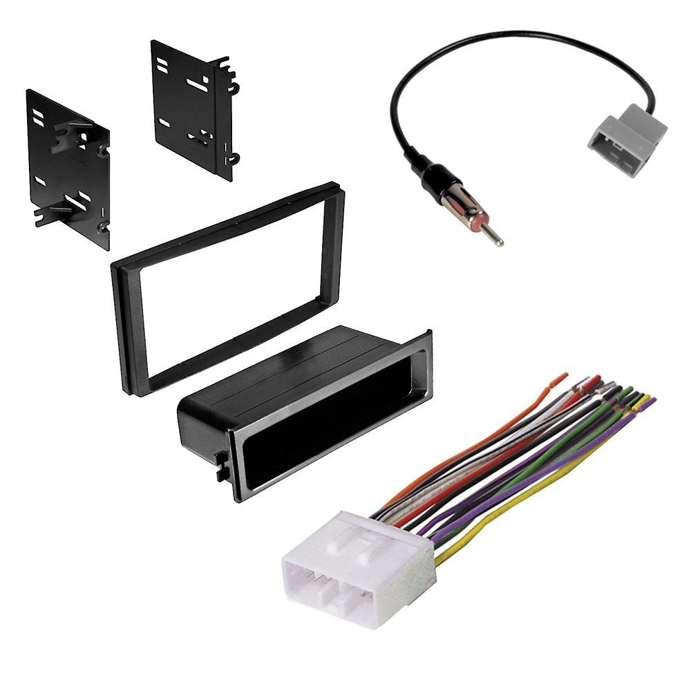 hight resolution of subaru forester impreza wrx double din radio stereo installation kit and wire harness