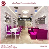 New Design Oem Mdf Nail Bar Furniture Design - Buy Nail ...
