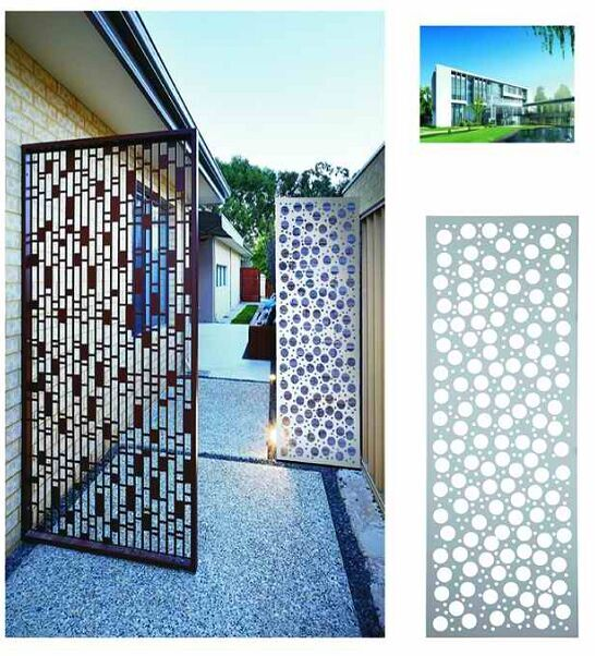 Prefabricated Perforated Metal Architectural Screens