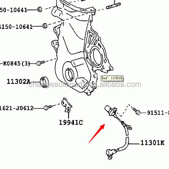 90919-05030 Crankshaft Position Sensor For Toyota Caldina