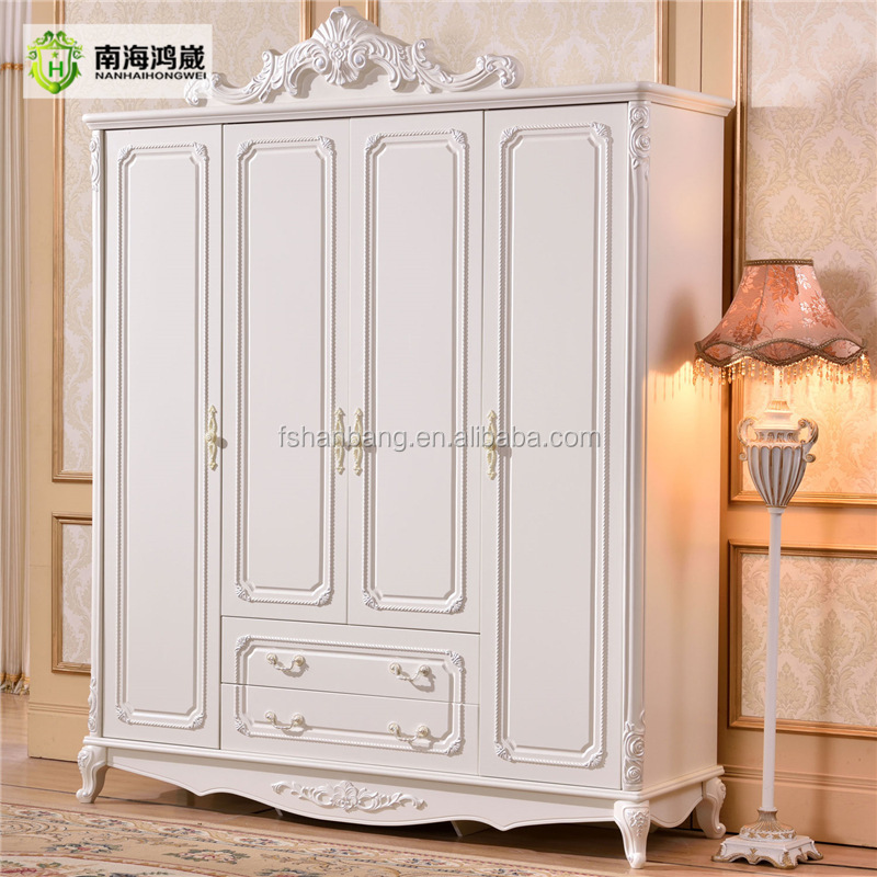 White Wooden Wardrobe Sale