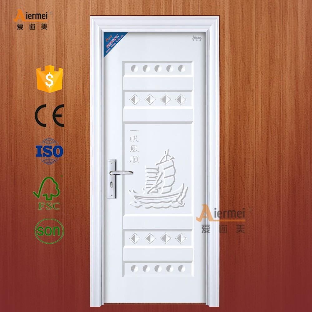 New Design Pvc Film Covering Cardboard Honeycomb Door Core