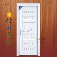 New Design Pvc Film Covering Cardboard Honeycomb Door Core