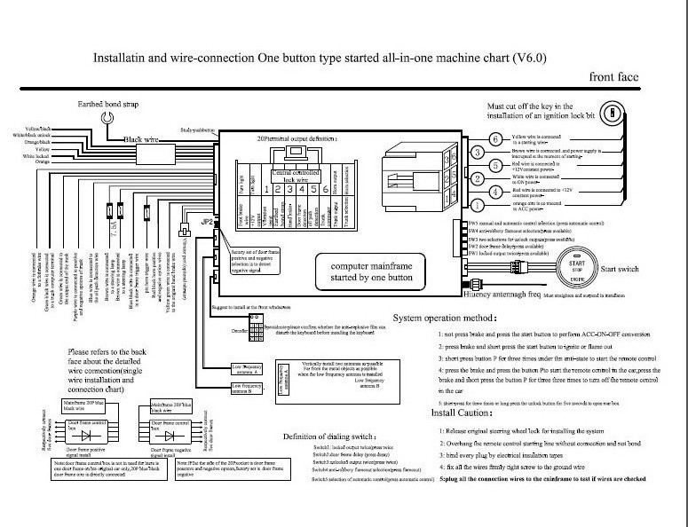 spy central locking wiring diagram