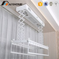 Smart Home System Luxury Hanger Ceiling Automatic Clothes ...