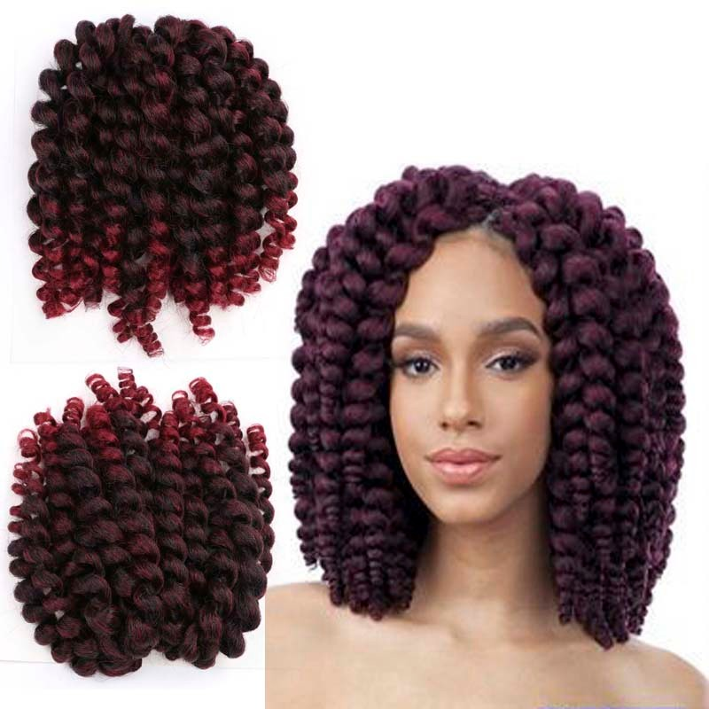 Jumpy Wand Curl Twist Crochet Braid Jamaican Bounce