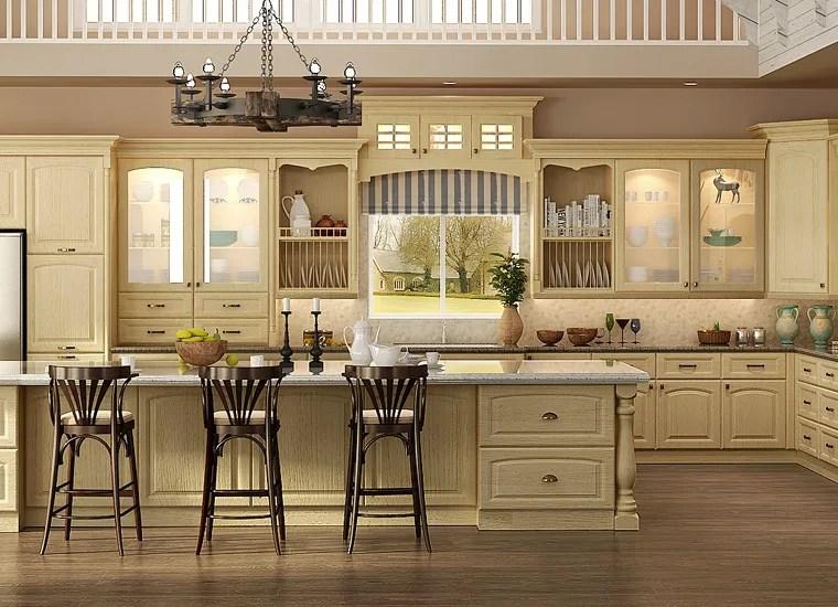 best rta kitchen cabinets refinish sink 舒适定制橡木实木厨柜现代厨房 buy 现代厨房 实木现代厨房 木制厨房