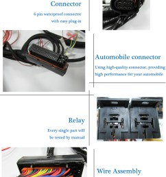 car engine wiring harness custom for automobile application wire harness e car snowmobile cable scooter wiring [ 750 x 1656 Pixel ]
