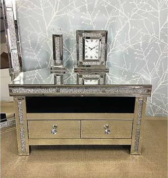 mirrored cabinets living room furniture sales online sparkly crushed diamond corner stand cabinet