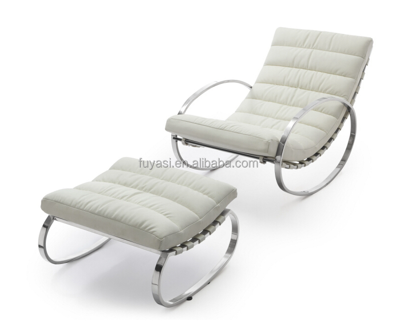 designer chairs for living room value city furniture rocking rolling chair lazy yh 117