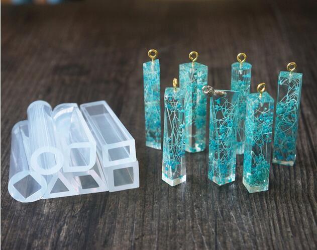 1pcs Silicone Mold Diy Resin Jewelry Pendant Lanugo Mold