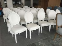 Round Back Leather White Wedding Chairs For Sale - Buy ...