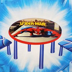 Spiderman Table And Chairs Best Back Cushion For Office Chair Cheap Kids Find Deals On Line At Get Quotations The Amazing Spider Man Graphic Set 2 1
