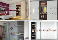 Durable Decorative Custom Design Almirah Sliding Door