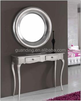 demi lune console table art deco table console avec miroir