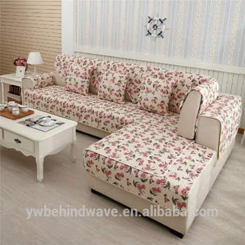 Nice Washable Patchwork Sofa Cover