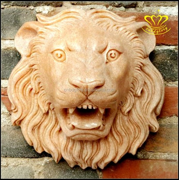 China Classic Outdoor Indoor Garden Lion Head Face Spout