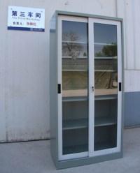 Craft Storage Units Cabinet Glass Sliding Door Display ...