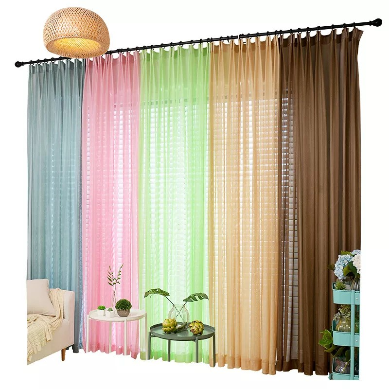 10 rideaux en voile de couleur rideau a panneau coulissant transparent vente en gros buy rideau en voile colore rideau fantaisie transparent rideau
