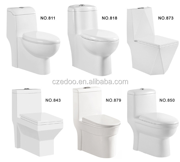 Best Selling Toilet Water Closet Sanitary Ware Siphonic One Piece Toilet Bathroom Accessories